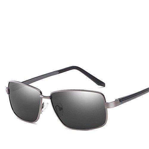 Chahua Lunettes de soleil brillant lunettes rétro personnalisé mens brillant miroir miroir miroir, pilote de pêche