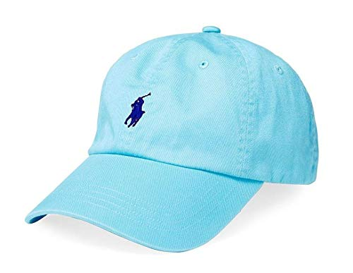 - Polo Ralph Lauren Men/Women Cap Cotton Twill Pony Logo French Turquoise