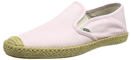 Pink on Baskets Esp Slip Femme Basses Vans Rose barely Owqp8511W