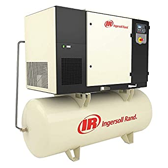 Amazon.com: Ingersoll-Rand - UP6S-20-125/120/208 - 3-Phase 20 HP Rotary Screw Air Compressor with 120 gal. Tank Size: Industrial & Scientific