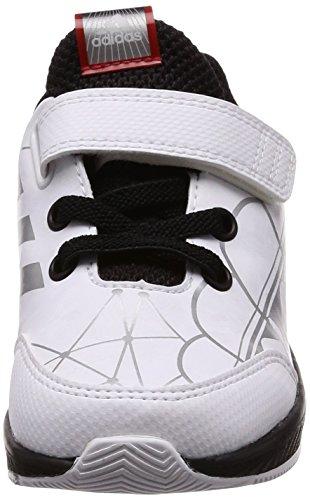 adidas StarWars RapidaRun I - Zapatillas de running, Niños Blanco (Ftwbla / Negbas / Escarl 000)