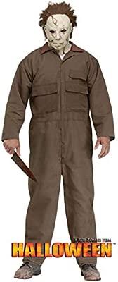 Horror-Shop vestuario Michael Myers con máscara One Size ...