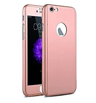 e737cc8985c AccWorld ® Rose Gold Color 360 Degree Ipaky Full Body Protection Case Cover  for Apple iPhone