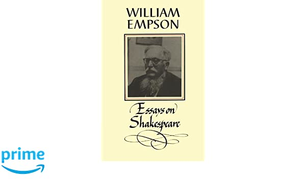 Custom Power Point Presentations Amazoncom William Empson Essays On Shakespeare  William  Empson Books Proposal For An Essay also Synthesis Essay Topics Amazoncom William Empson Essays On Shakespeare   Research Paper Essay