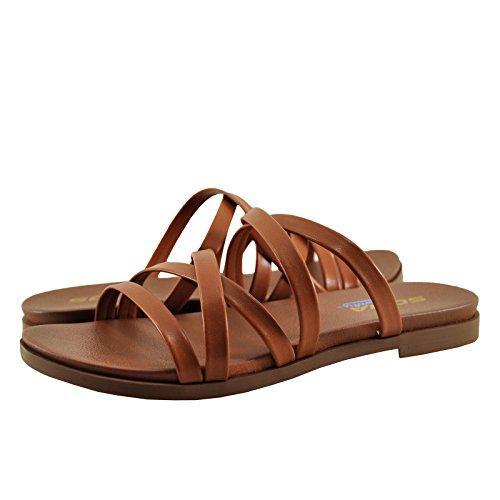 Open Toe Criss Cross Soda Tan Sandals Theta Women's wz4qznXPA