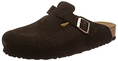 Birkenstock Australia Women's Boston SFB Clogs, Mocca, 38 EU