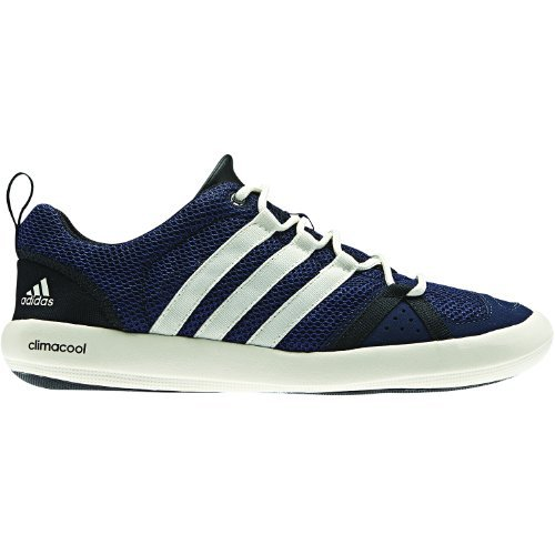 Adidas Boat CC Lace Shoes for Men 10 Dark IndigoChalkBlack