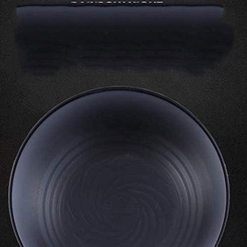 WYJBD Pot de fer non couché, Wok ménages Iron Pot Épaississement anti-rayures résistant à l'usure Pan