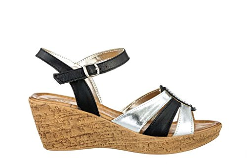 Sandali donna in pelle per l'estate scarpe RIPA shoes made in Italy - 09-6533