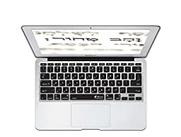 KB Covers Hebrew Keyboard Cover for 11-Inch MacBook Air (HEB-M11-CB)