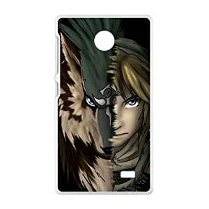 YYYT Magical wolf and man Cell Phone Case for Nokia Lumia X