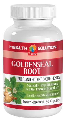 Cheap Goldenseal powder organic – GOLDENSEAL ROOT EXTRACT – candida overgrowth control (1 bottle)