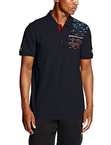 PUMA Herren T-shirt BMW MSP Graphic Polo, Team Blue, S, 761994 01