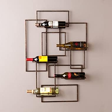 Bertrand Wall Mount Wine Sculpture