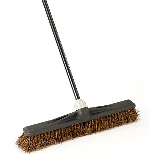 O-Cedar Professional 24'' Palmyra Rough-Surface Push Broom by O-Cedar