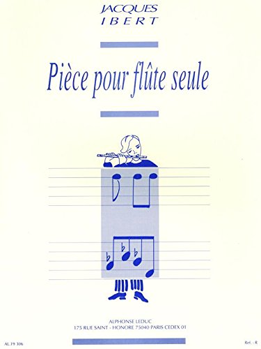 Ibert: Piece for Solo Flute ()