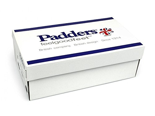 Padders Shoe Biscuit Free Extra 'Cello' Leather Fit Fit EE UK EEE System shoehorn Footcare Wide Dual Women's BBrwpqEKxU