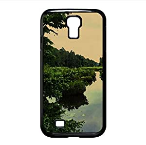 Forest Lake Watercolor style Cover Samsung Galaxy S4 I9500 Case (Forests Watercolor style Cover Samsung Galaxy S4 I9500 Case)