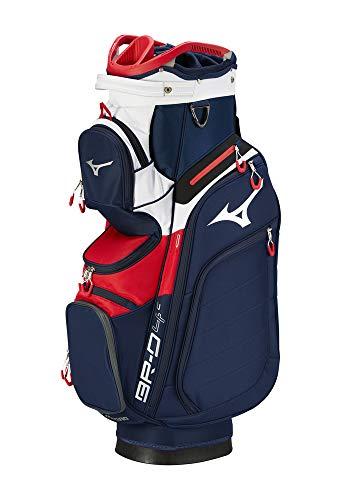 Mizuno 2020 BR-D4C Cart Golf Bag, Navy-Red