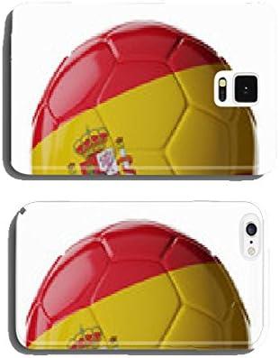 Pelota de fútbol de la bandera de España para Carcasa del pack ...