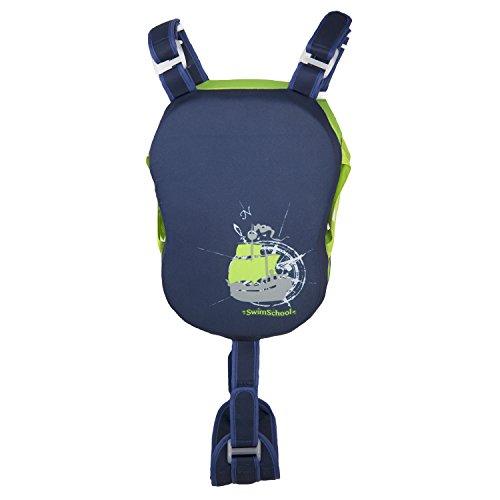 Swim School- Confidence Building System Boys Progressive Pad Trainer, Medium/Large (Vest Boys Swim)