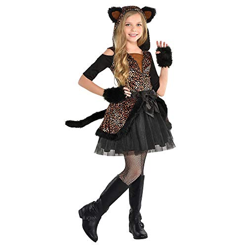 Leopard Dress Halloween Costume for Girls, Small, with Included Accessories, by Amscan]()