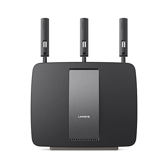Linksys AC3200 Tri-Band Smart Wi-Fi Router with Gigabit and USB, Designed for Device-Heavy Homes, Smart Wi-Fi App Enabled to Control Your Network from Anywhere (EA9200) 1 Advanced Tri-band Wi-Fi technology Up to 3.2 Gbps wireless speed 1 GHz dual-core CPU and 3 integrated co-processors deliver 2.96GHz of penta-core processing power