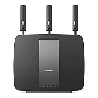 Linksys AC3200 Tri-Band Smart Wi-Fi Router with Gigabit and USB, Designed for Device-Heavy Homes, Smart Wi-Fi App Enabled to Control Your Network from Anywhere (EA9200) (B00ON7AX3U) | Amazon price tracker / tracking, Amazon price history charts, Amazon price watches, Amazon price drop alerts