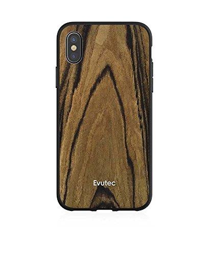 check out 59f7e 51efe Amazon.com: Evutec iPhone X Case With Vent Mount (Walnut): Electronics