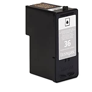 Lexmark 36 (18C2130) Black OEM Genuine Inkjet/Ink Cartridge - Retail