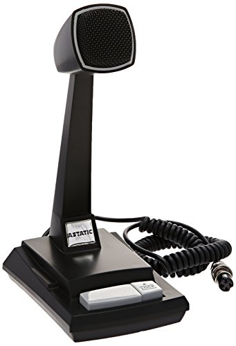 Astatic 302-AST878DM Cb Desk Mic (Astatic Cb Radio)