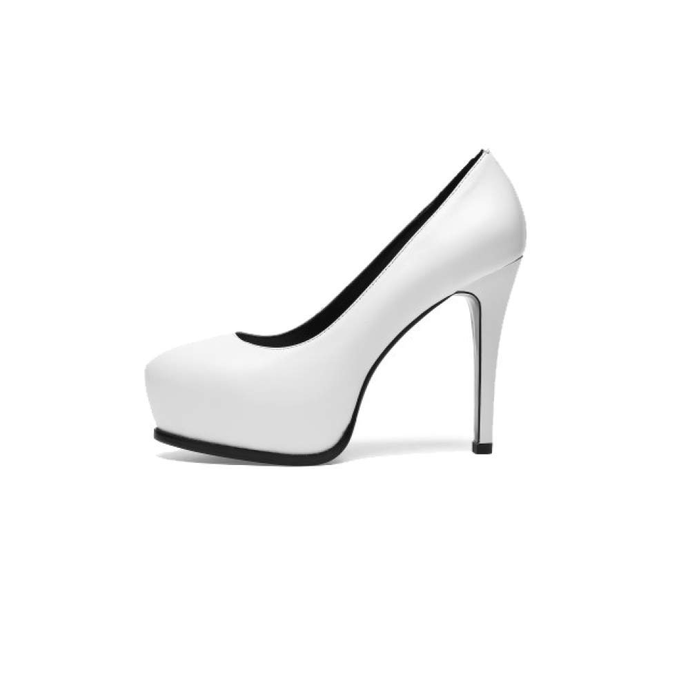 ZPEDY Chaussures Confort pour Femmes, Hauts Talons, Mariage, Mode, White Pointues, Chaussures De Mariage, Confort White 6df0087 - fast-weightloss-diet.space