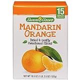 Sunnie Grove Dried and Gently Sweetened Mandarin Orange (15 Snack Packs)