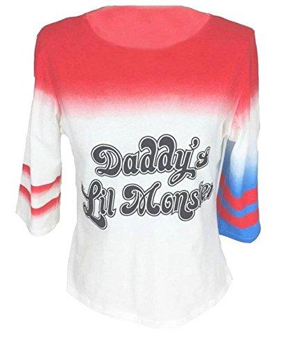 Women`s Harley Quinn fashion t shirt - Shop Harley Quinn