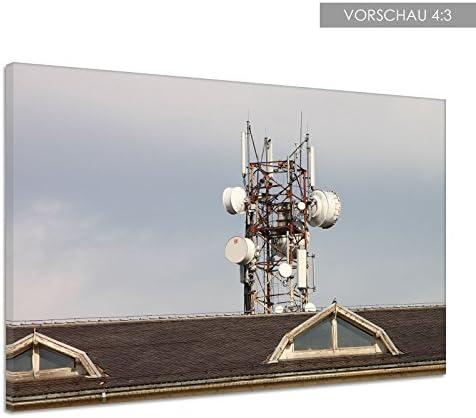 Antena Array funda Comunicación Microondas Lienzo Póster ...