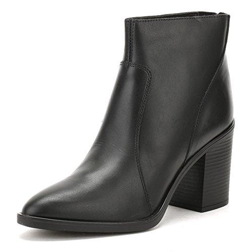 Tower Cuir Bottes Skin Noir London Femmes Ankle 74qI4r