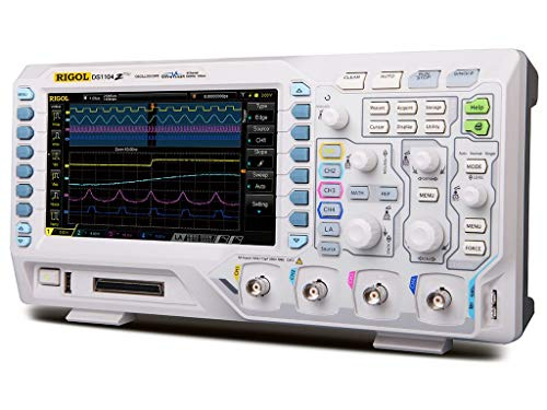 4 Channel Oscilloscope - Rigol DS1104Z Plus 100 MHz Digital Oscilloscope with 4 Channels