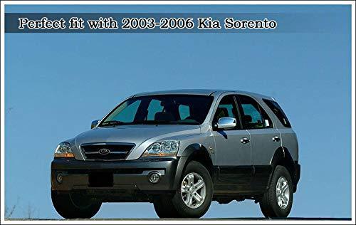 Tapacubos de rueda original 52960 3E070 Emblem4p para 2003 2006 Kia Sorento: Amazon.es: Coche y moto