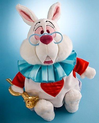9290e6a77a6 Disney Alice In Wonderland Exclusive 15 Inch Deluxe Plush Figure White  Rabbit