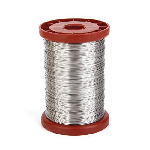 VORCOOL 0.5mm 500G Stainless Steel Wire for Hive Frames Beekeeping Tool