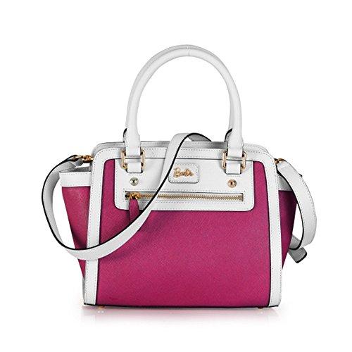 pour Simple et Cool Sac couleur à de Shopping Fashion PU BBFB085 Epaule rose à série Elégant la en Main Femmes Barbie Porté de pure Filles blanc Classique cuir Bandoulière Mode 6fqPP