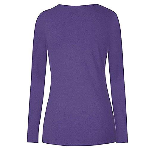 Lunga T Manica Top Maternit Topgrowth Abbigliamento da Donna Allattamento Premaman Shirt qf1wf0