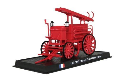Fourgon Depart Attele - 1897 diecast 1:43 fire truck model (Amercom SF-11)