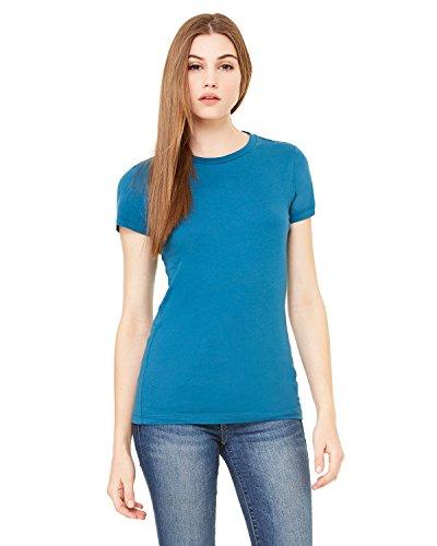 Bella + Canvas Ladies The Favorite T-Shirt, XL, DEEP TEAL