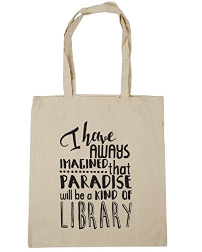 HippoWarehouse that a always have 10 kind x38cm i Shopping Bag litres of imagined Tote be library Beach Natural paradise will Gym 42cm wI8rIx5q