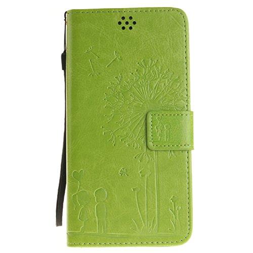 iPhone 7 Plus Case,iPhone 7 Plus Wallet Case,MT Mall(TM)[Hand Strap]Premium PU Leather Case Magnetic Hybrid Flip Wallet Purse Case[Built in Credit Card Slots] - Mall Mt