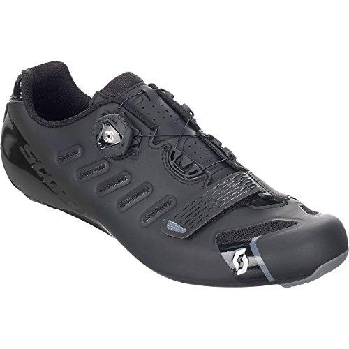 従者尽きる主に(スコット) Scott Road Team BOA Shoe メンズ ロードバイクシューズMatte Black/Gloss Black [並行輸入品]