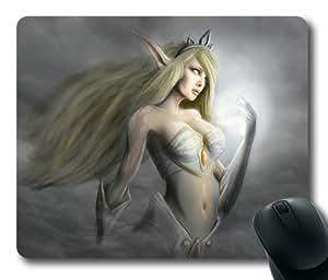Customizablestyle League of Legends Janna-3 Mousepad, Customized Rectangle DIY Mouse Pad