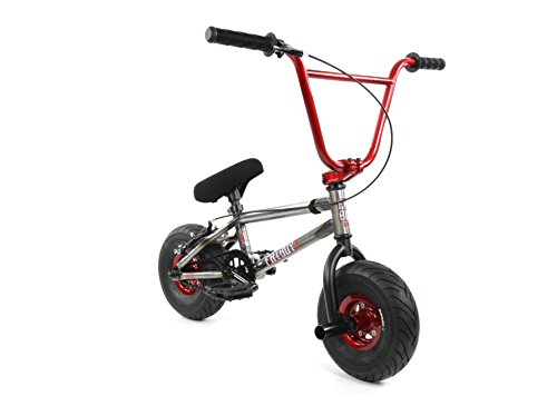 FatBoy Mini BMX Bicycle Freestyle Bike Fat Tires Raw Assault PRO