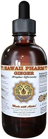 Ginger Liquid Extract, Organic Ginger Zingiber officinale Tincture 2 oz